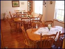 captains inn dining room